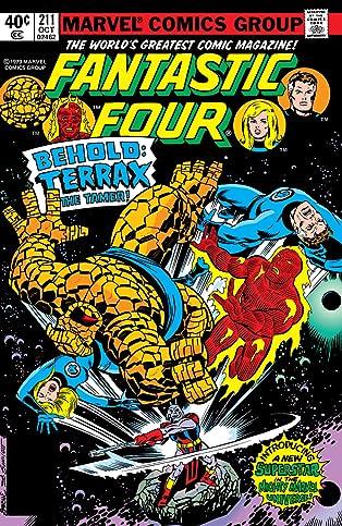 Fantastic Four (1961-1998) #211