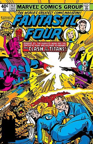 Fantastic Four (1961-1998) #212