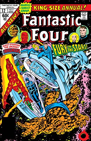 Fantastic Four (1961-1998) Annual #12