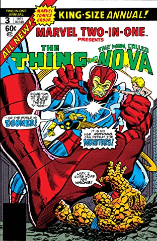 Marvel Two-In-One (1974-1983) Annual #3