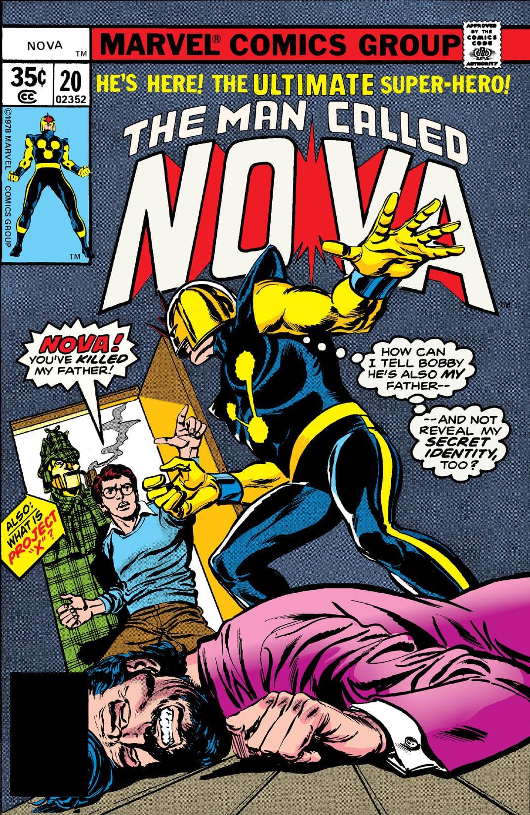 Nova (1976-1978) #20