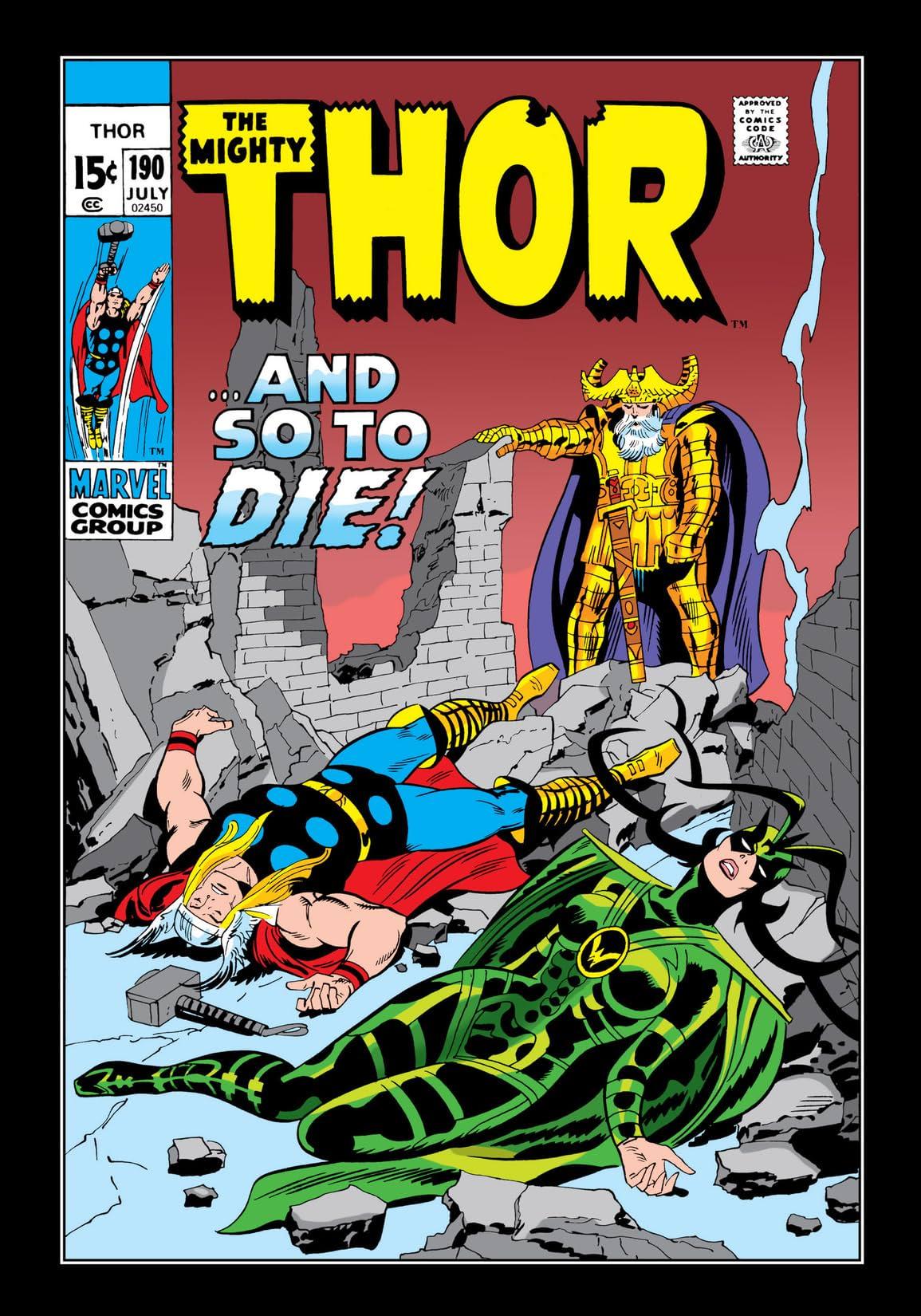 Thor (1966-1996) #190