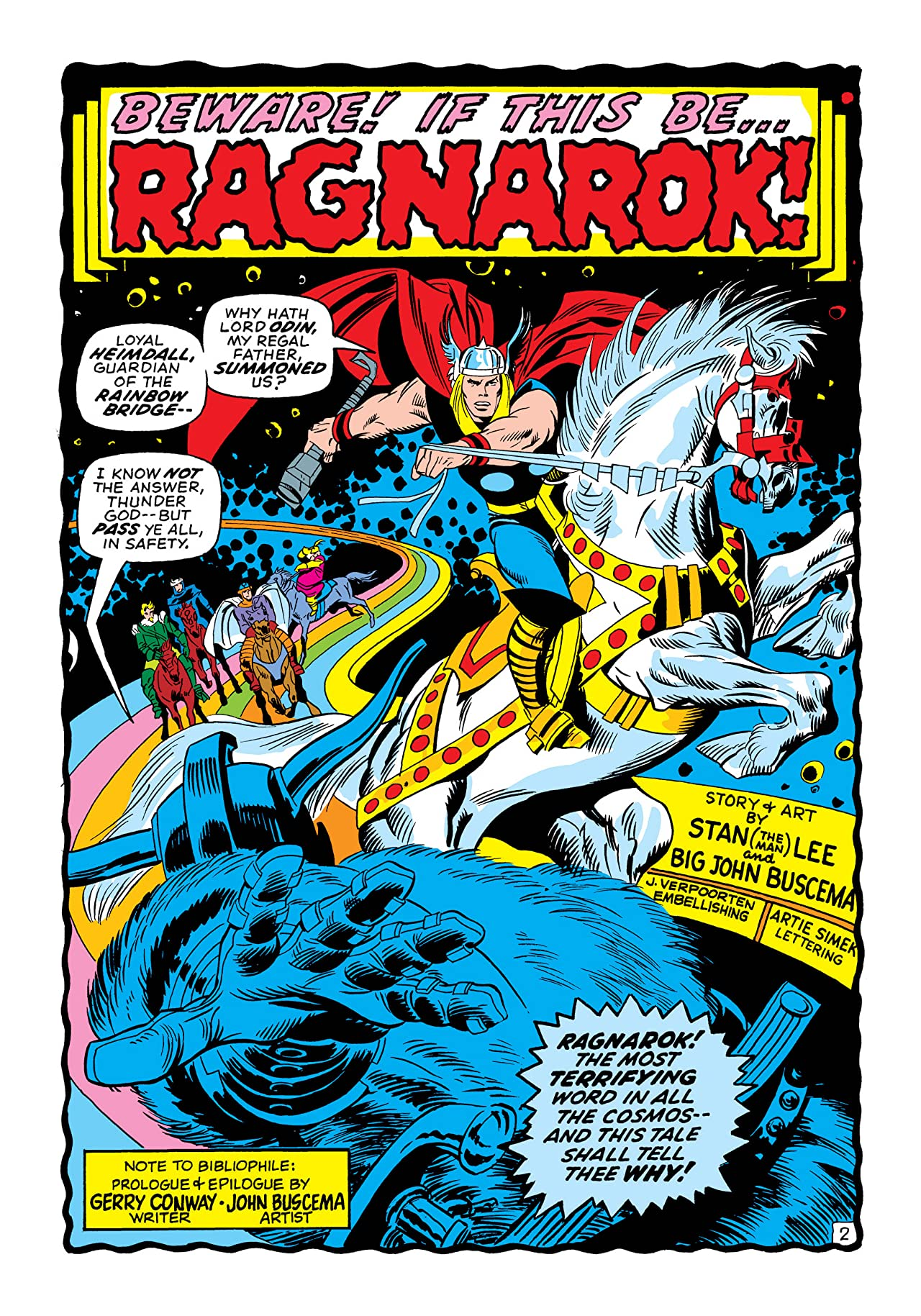 Thor (1966-1996) #200