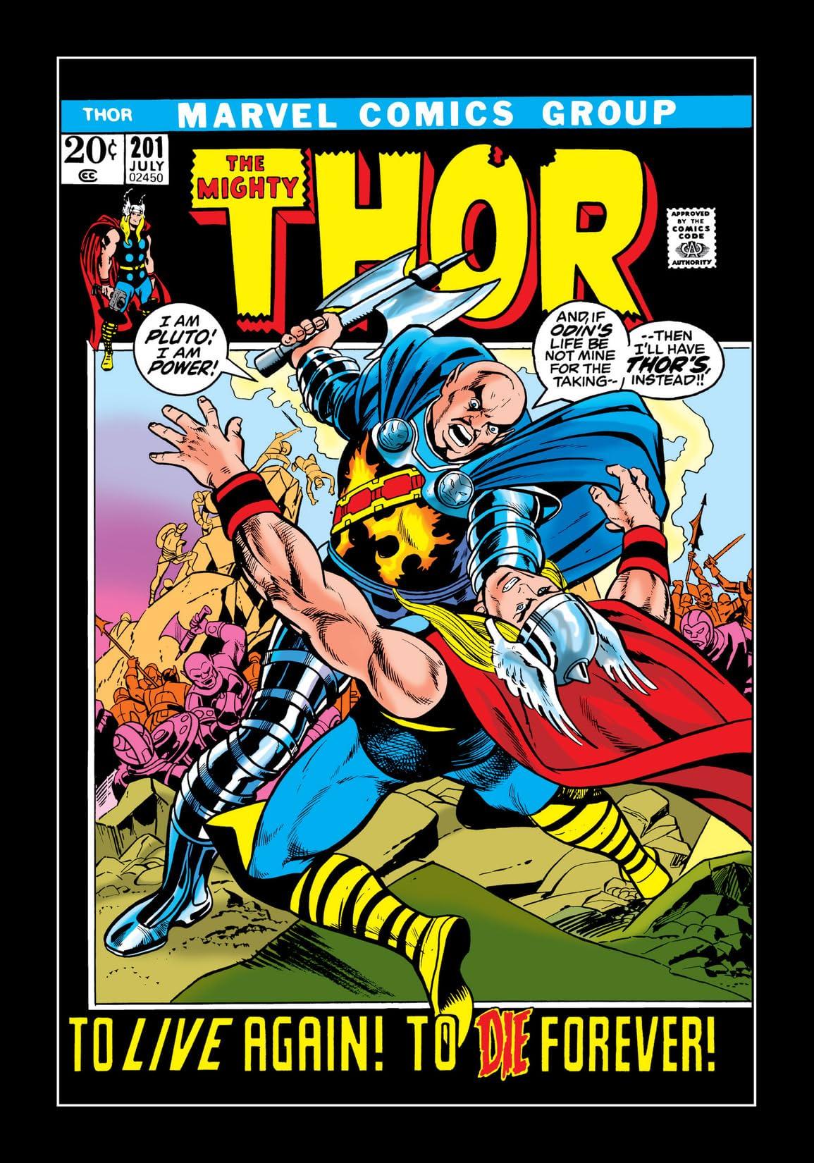 Thor (1966-1996) #201