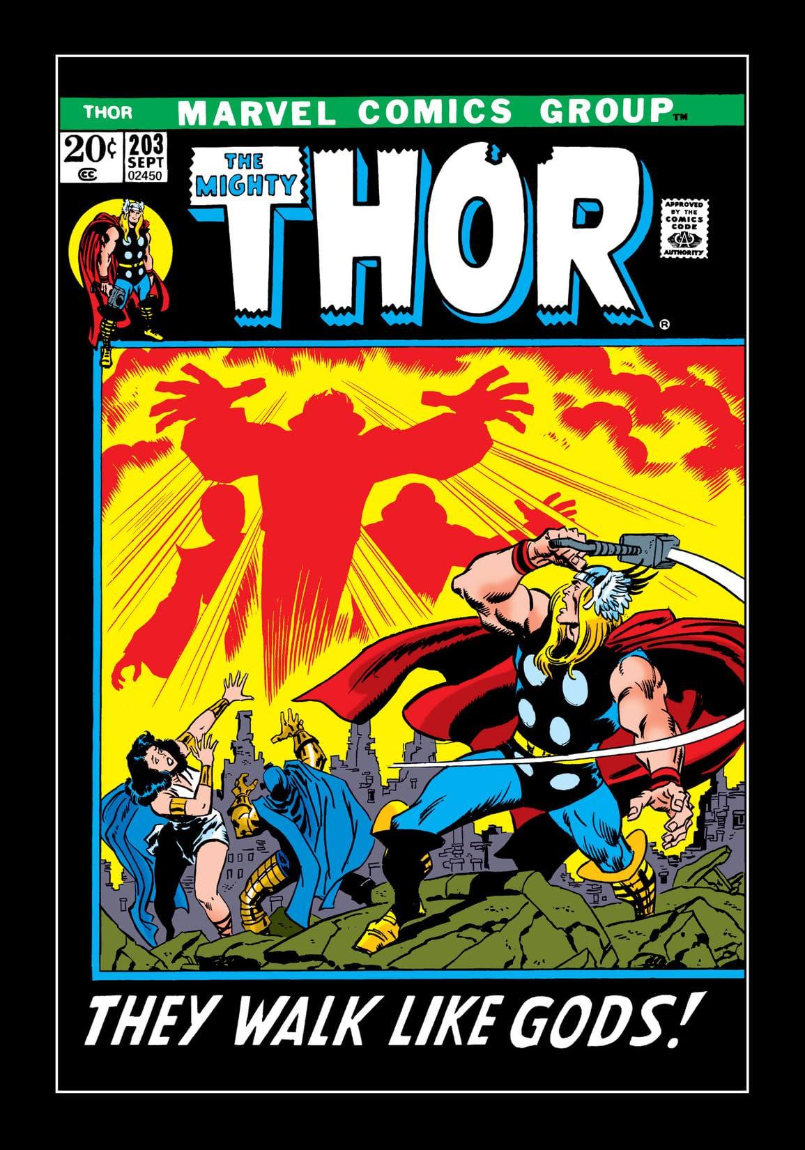 Thor (1966-1996) #203