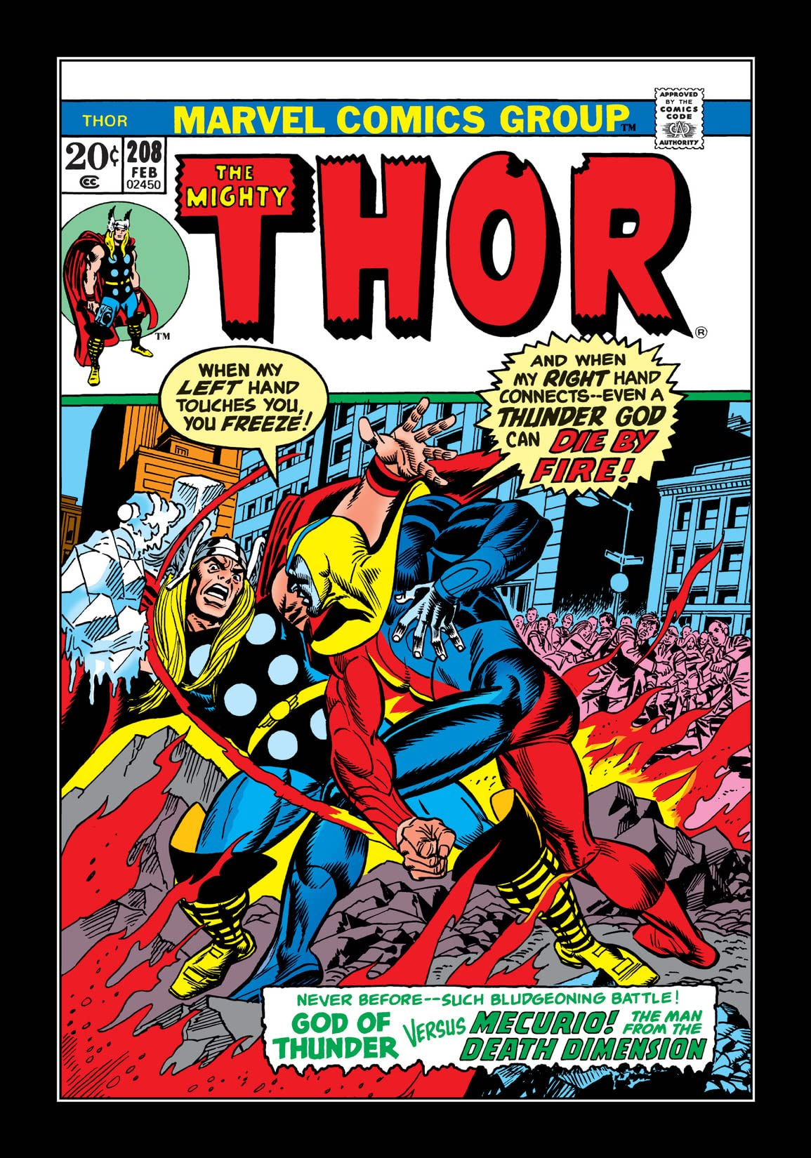 Thor (1966-1996) #208