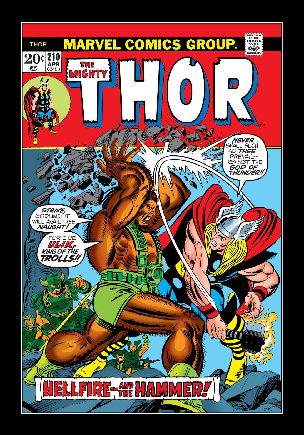 Thor (1966-1996) #210