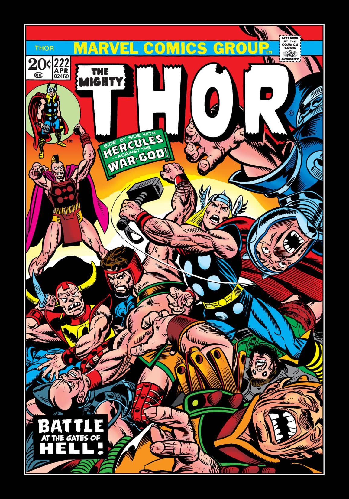 Thor (1966-1996) #222