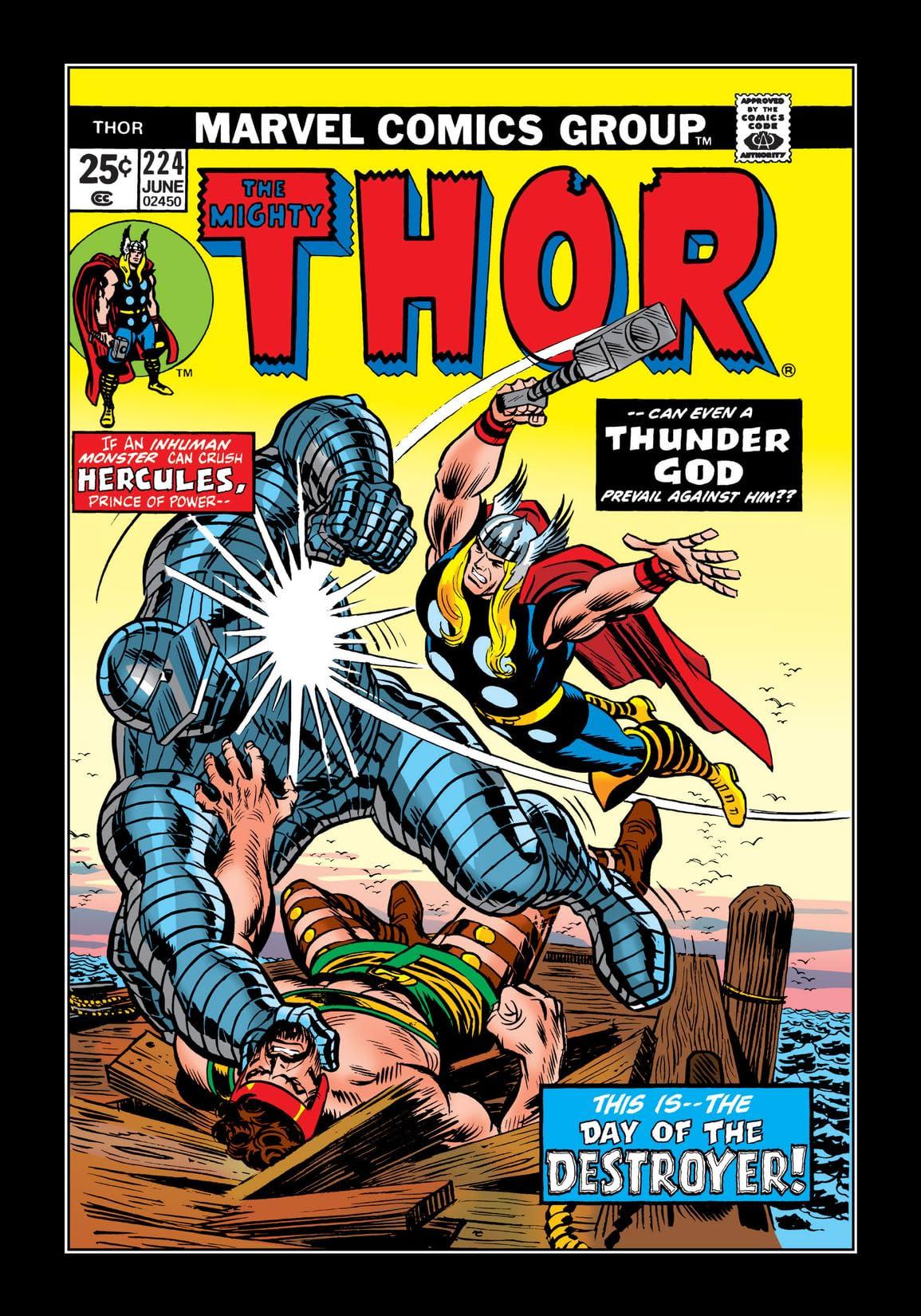 Thor (1966-1996) #224