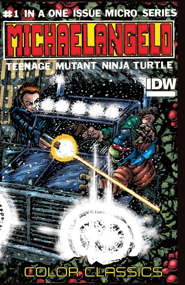 Teenage Mutant Ninja Turtles Color Classics Micro Series Michelangelo Eu Comics By Comixology