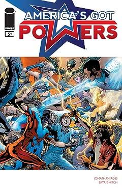 America's Got Powers No.5 (sur 7)