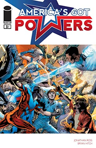 America's Got Powers #5 (of 7)