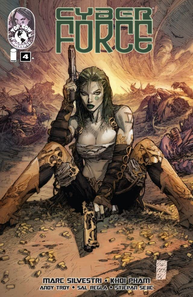 Cyber Force (2012) #4