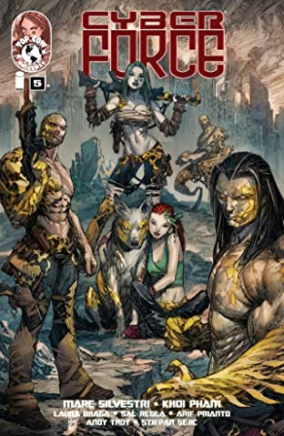 Cyber Force (2012) No.5