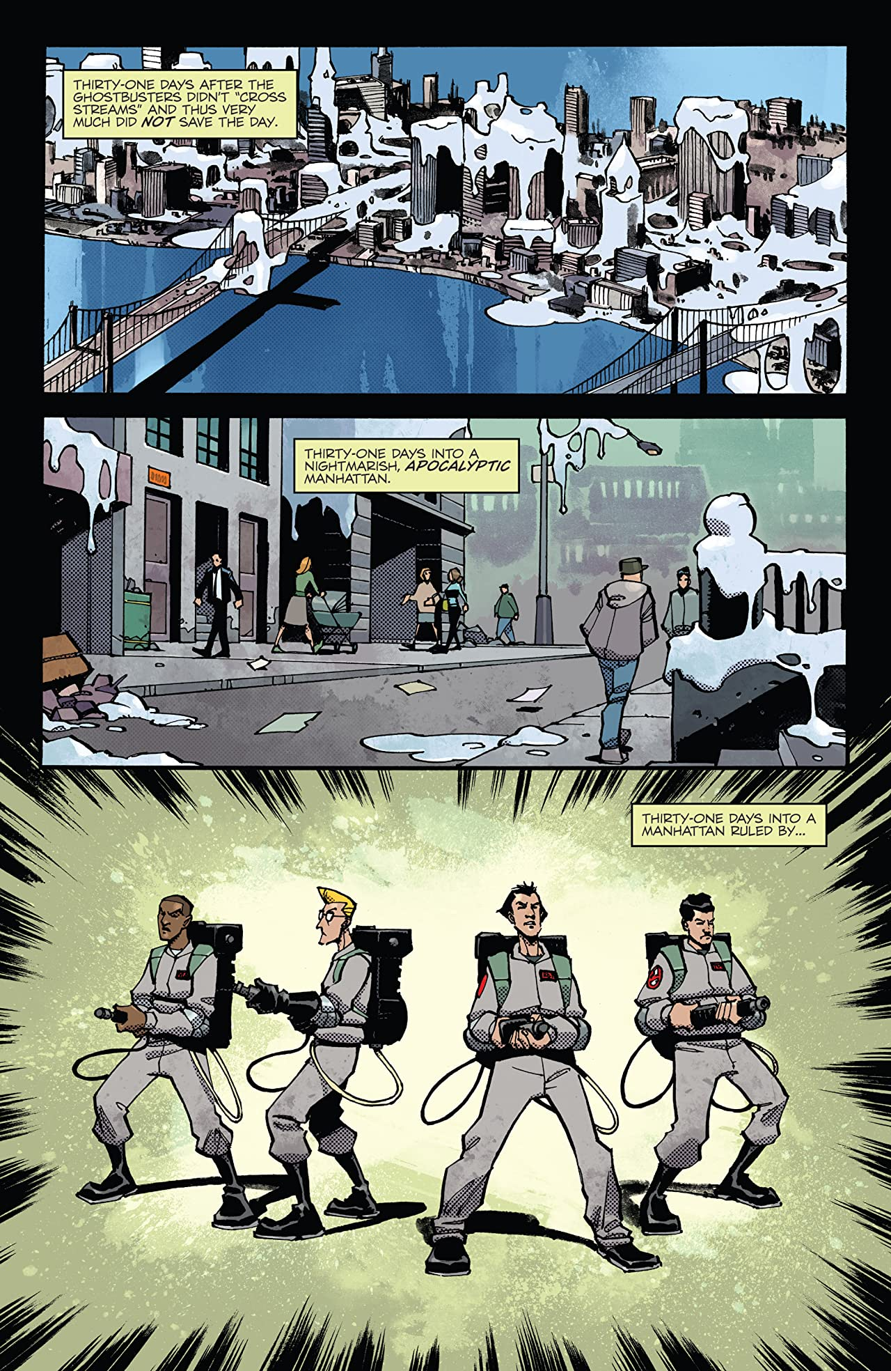 Ghostbusters Deviations #1
