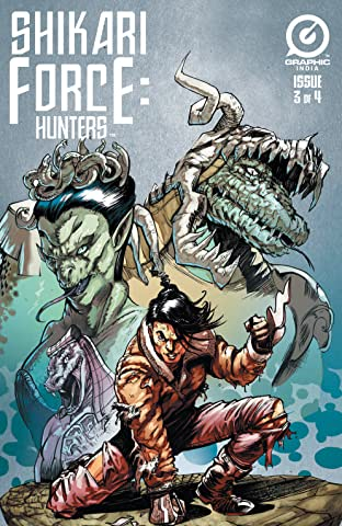 Shikari Force: Hunters #3 (of 4)