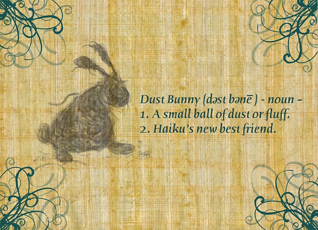 A Cat Named Haiku #2: Dust Bunny