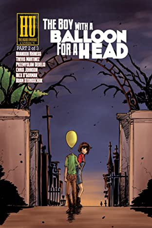 The Boy with a Balloon for a Head #2