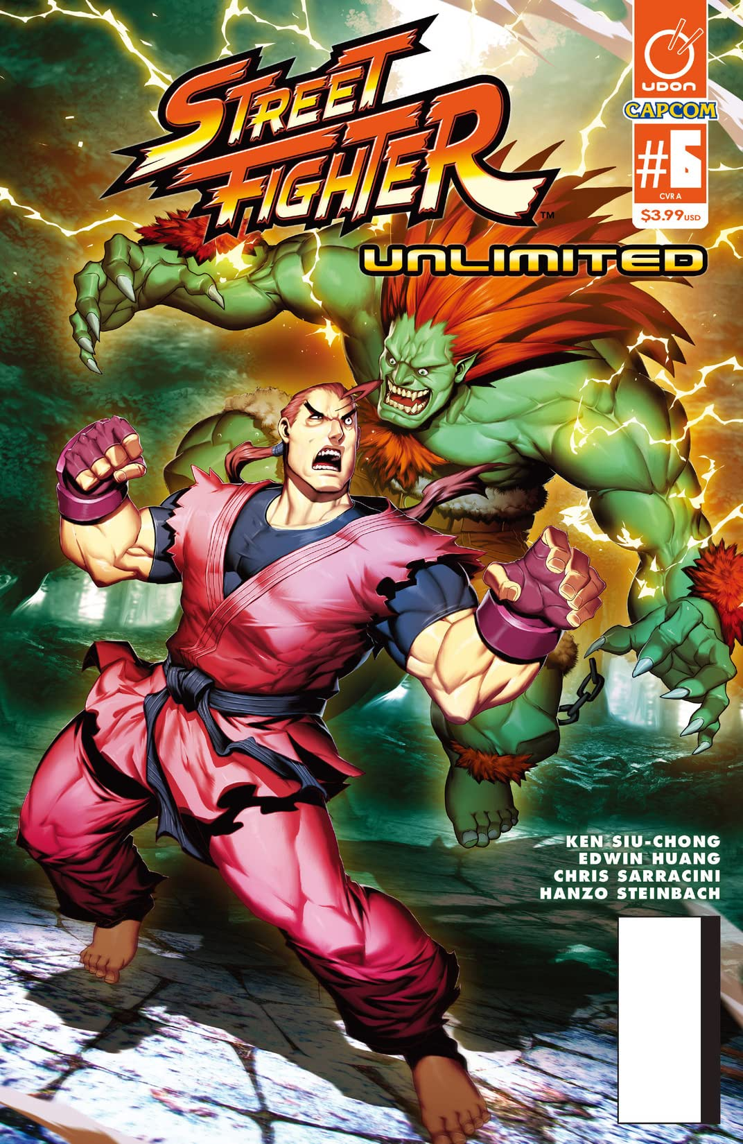 Street Fighter Unlimited #6