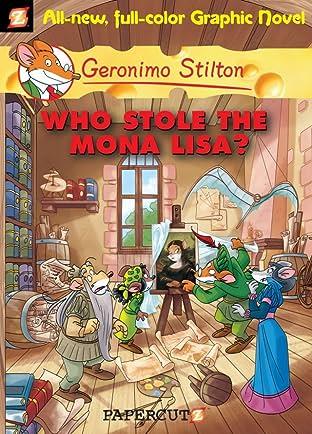 Geronimo Stilton Vol. 6: Who Stole the Mona Lisa? Preview