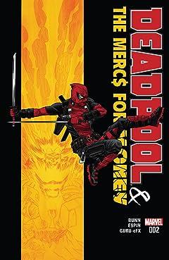 Deadpool & The Mercs For Money (2016) #2 (of 5)