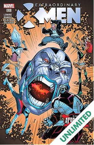 Extraordinary X-Men (2015-2017) #8