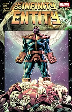 The Infinity Entity (2016) #2 (of 4)