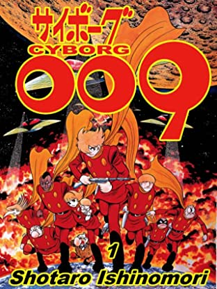 Cyborg 009 Tome 1: Preview