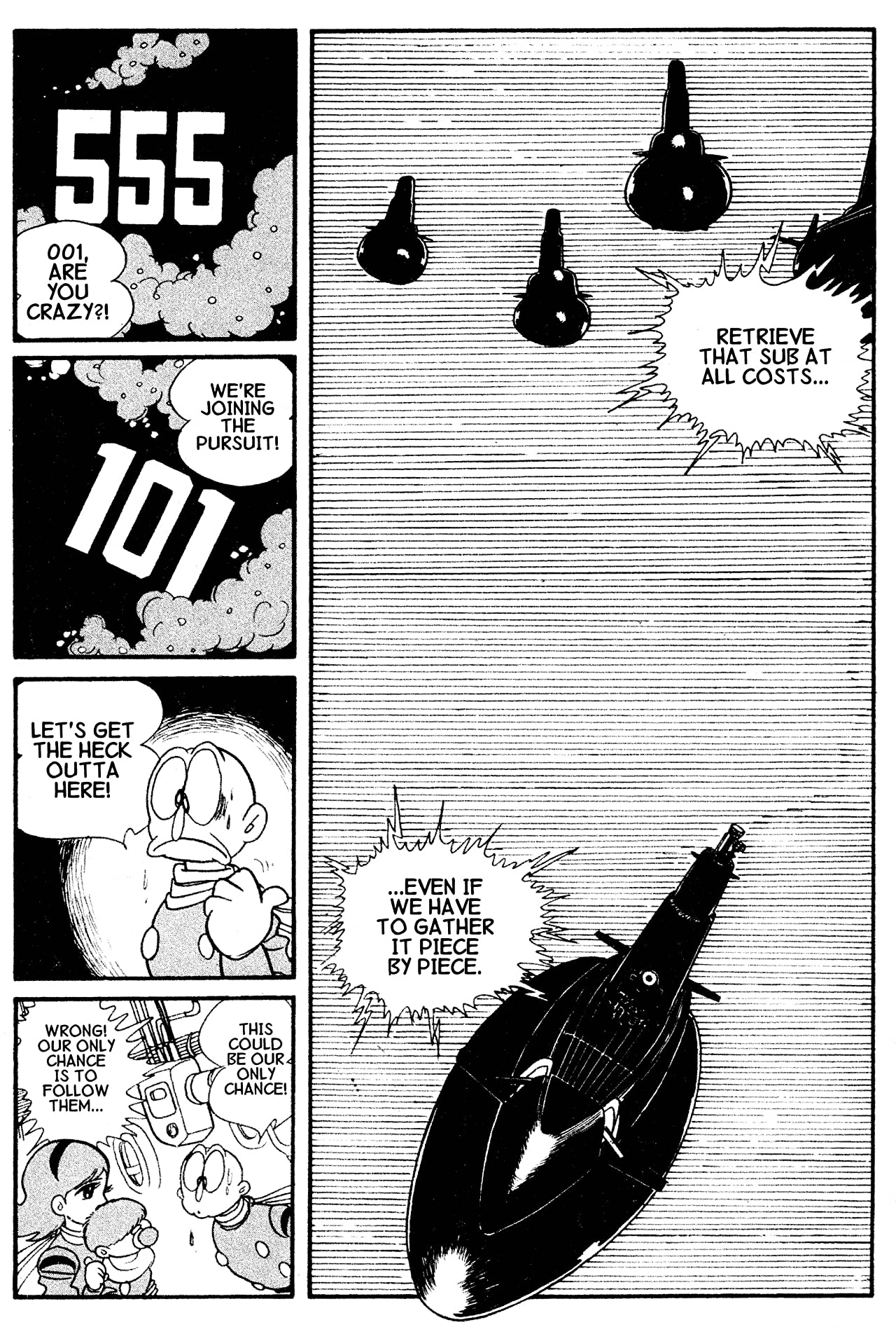 Cyborg 009 Vol. 2: Preview