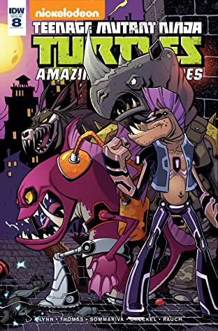 Teenage Mutant Ninja Turtles: Amazing Adventures No.8