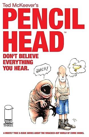 Pencil Head #3 (of 5)