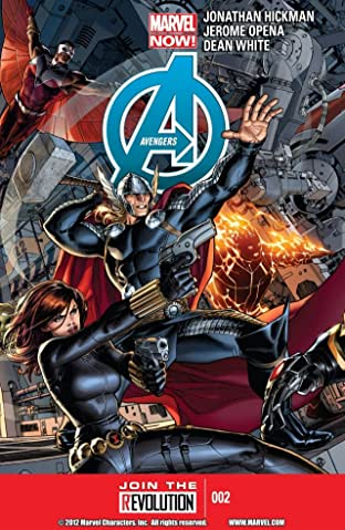 Avengers (2012-2015) No.2