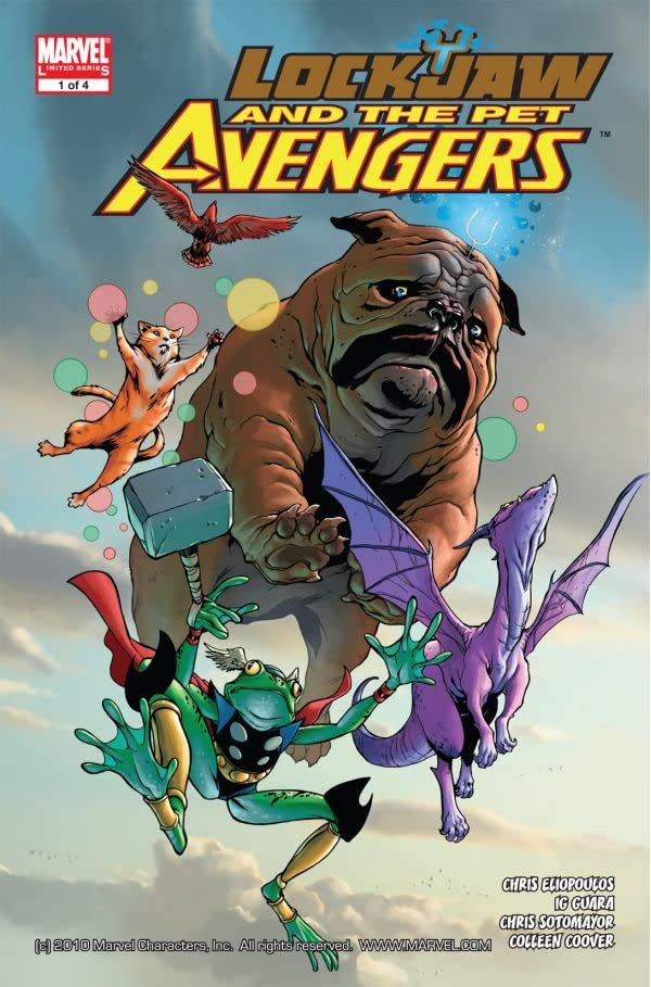 Lockjaw and the Pet Avengers #1 (of 4)