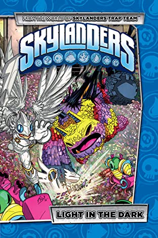 Skylanders Tome 4: Light In The Dark