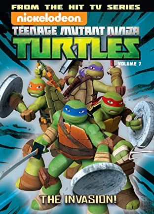 Teenage Mutant Ninja Turtles Animated Vol. 7: The Invasion