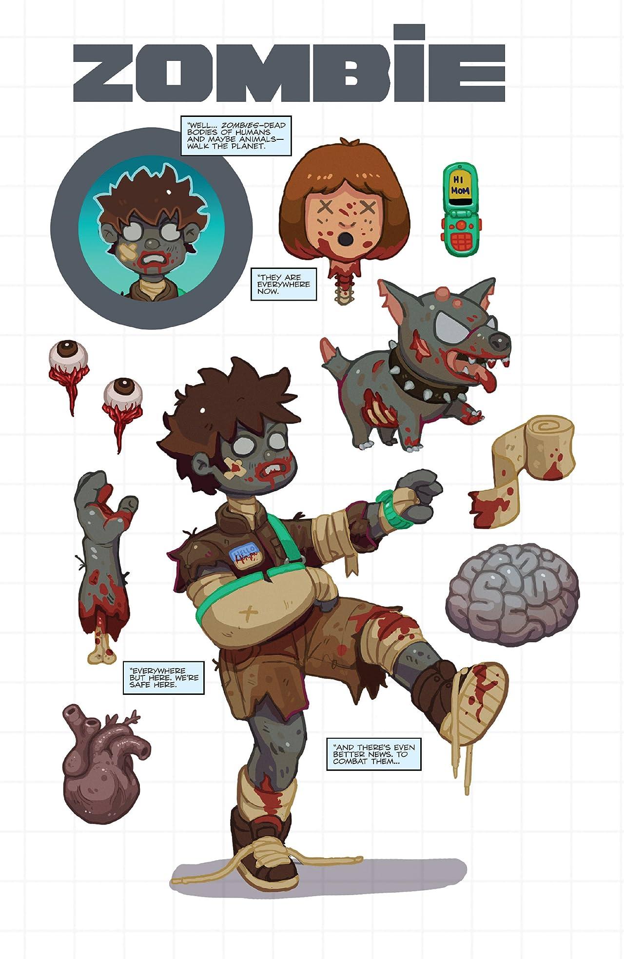 Zombies vs. Robots (2015) Vol. 2: War! 'Bots!