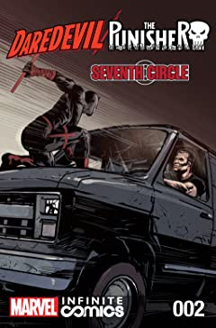 Daredevil/Punisher: Seventh Circle Infinite Comic #2