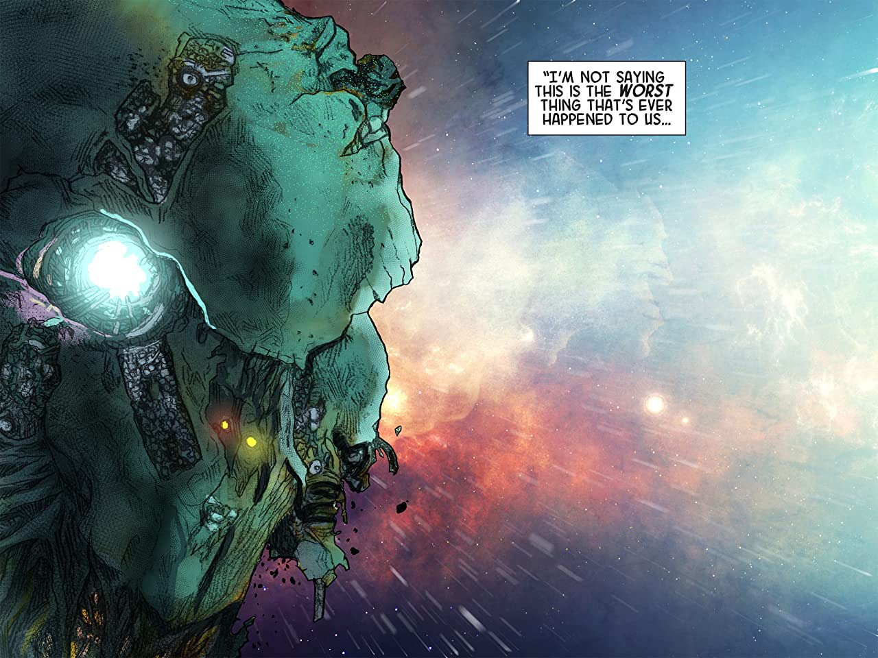 Marvel Universe Guardians of the Galaxy Infinite Comic #10