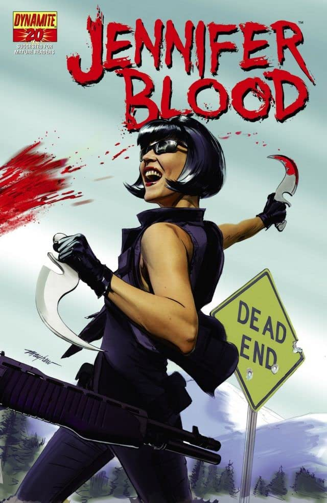 Garth Ennis' Jennifer Blood #20