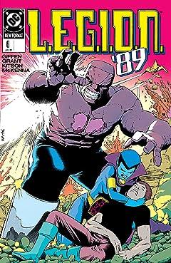 L.E.G.I.O.N. (1989-1994) No.6