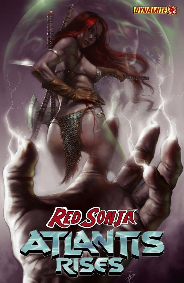 Red Sonja: Atlantis Rises #4