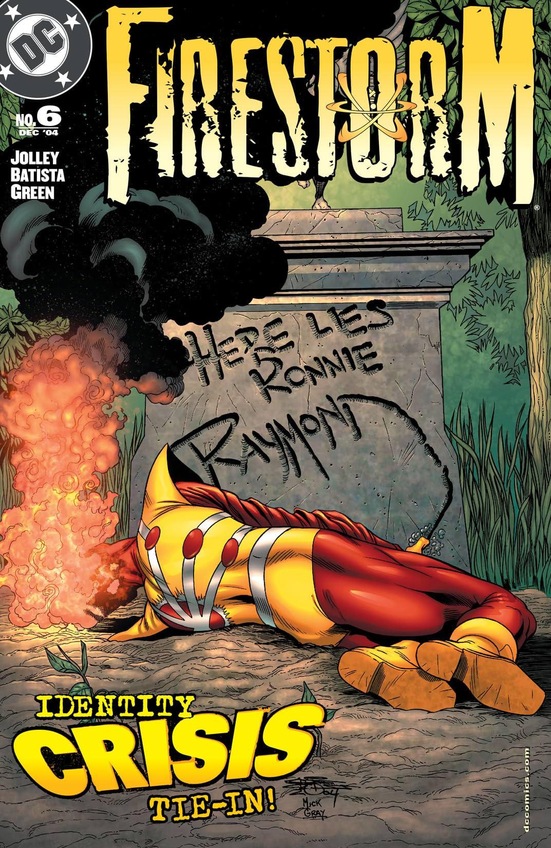 Firestorm (2004-2007) #6