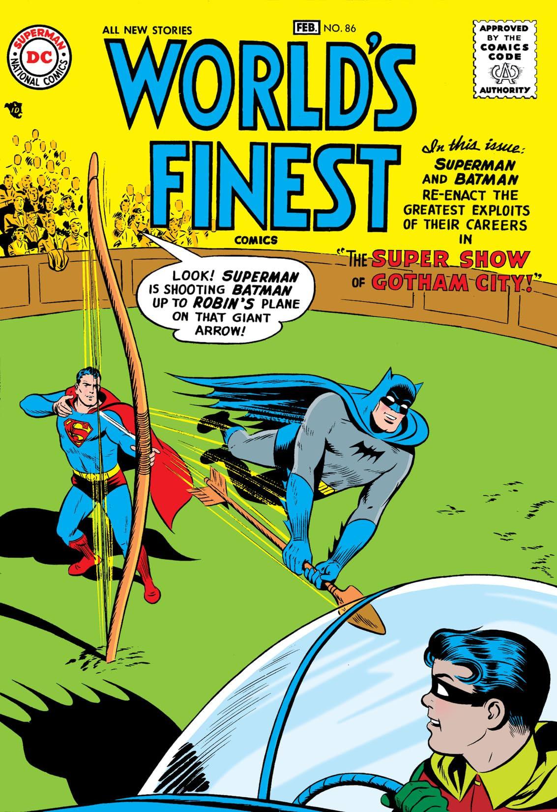 World's Finest Comics (1941-1986) #86