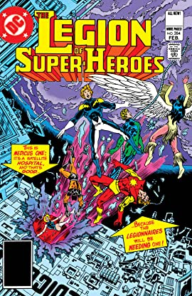 Legion of Super-Heroes (1980-1985) #284