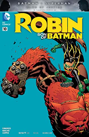 Robin: Son of Batman (2015-2016) #10
