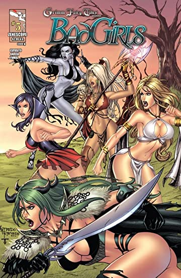 Grimm Fairy Tales: Bad Girls #5 (of 5)