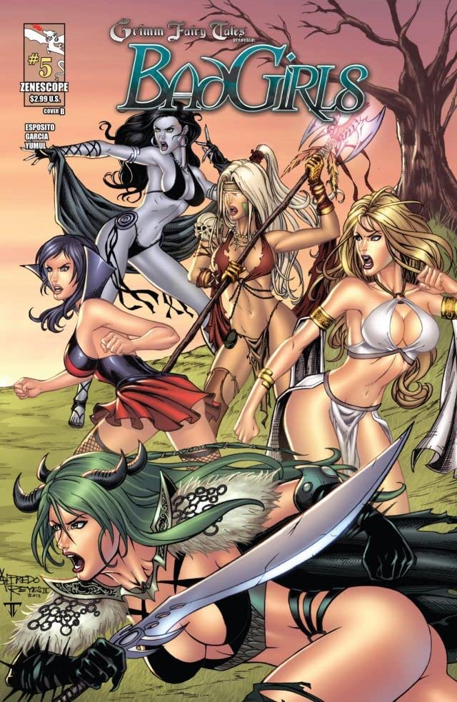 Grimm Fairy Tales: Bad Girls #5