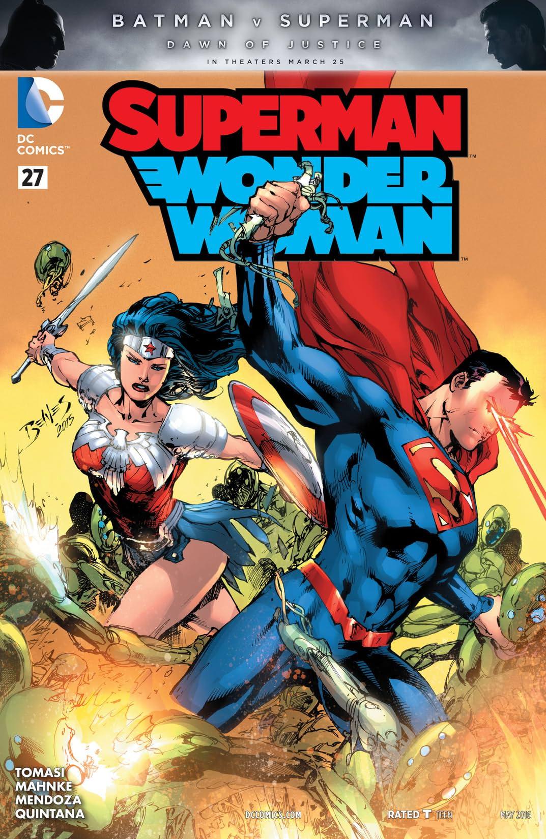Superman/Wonder Woman (2013-2016) #27