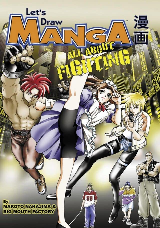 Let's Draw Manga: All About Fighting