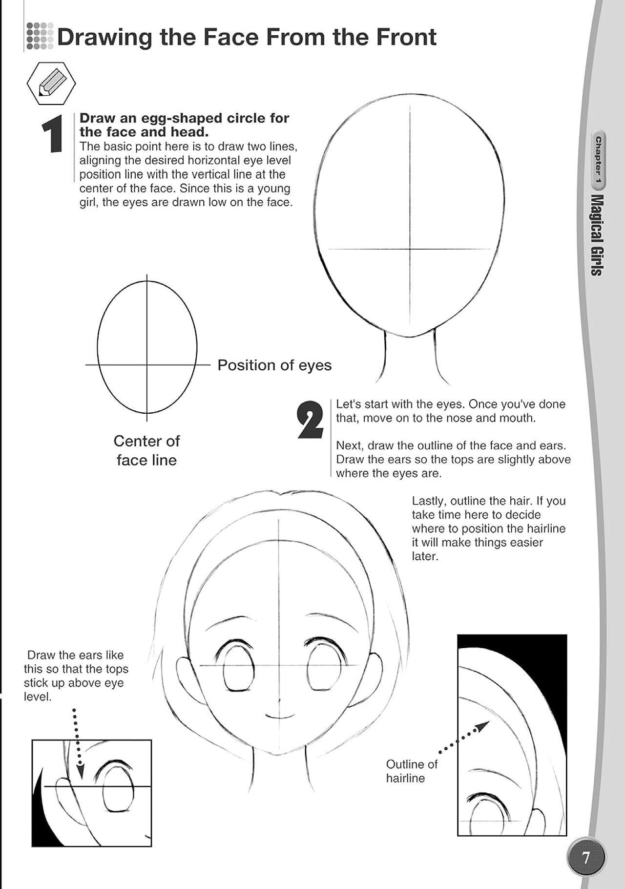 Let's Draw Manga: Shoujou Characters